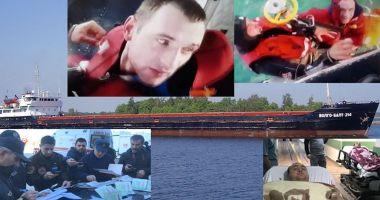 O navă s-a scufundat în Marea Neagră; șase marinari au murit