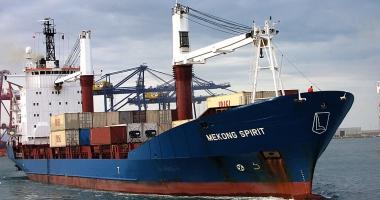 O navă suspectă că a violat embargoul privind armele