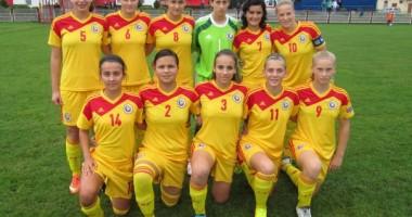 Fotbal feminin: România a remizat cu Lituania în calificările pentru EURO 2015