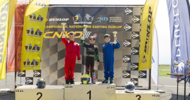 Spectacol realizat de constănţeni  în Campionatul Naţional de karting