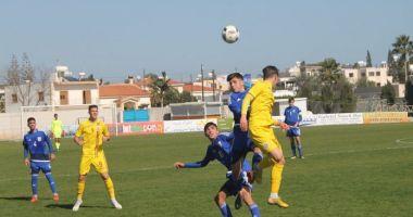 """Onoarea """"tricolorilor"""" în duelul cu Cipru, salvată de un jucător al Viitorului"""