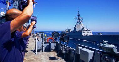 O nouă misiune sub pavilion NATO, îndeplinită de Forțele Navale Române