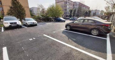 O nouă parcare a fost amenajată în KM 4-5