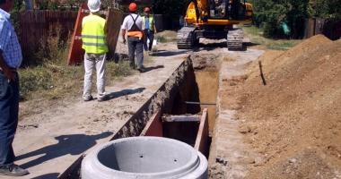 Opt comune din judeţul Vrancea vor fi racordate  la reţeaua  de canalizare
