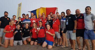 Opt medalii pentru România, la Campionatele Mondiale  de lupte pe plajă