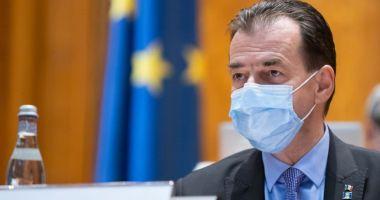 Ludovic Orban: Vom crește capacitatea de tratare a pacienților cu COVID-19