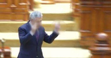 VIDEO. IMAGINILE RUŞINII! Florin Iordache, semne obscene în Parlament