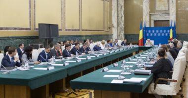 Şedinţă de guvern la ora 13.00. Ce hotărâri va adopta Executivul