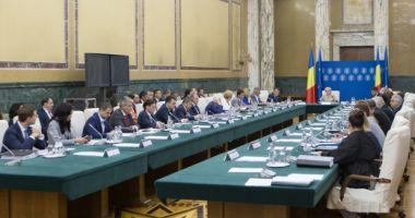 Şedinţă de Guvern, marţi. Executivul ar putea adopta hotărârea înfiinţării Fondului Suveran