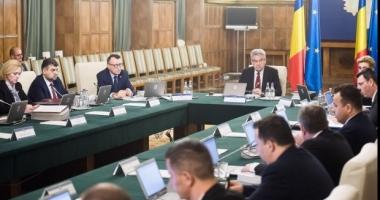 Şedinţa extraordinară de guvern pentru noile măsuri fiscale, amânată din nou?