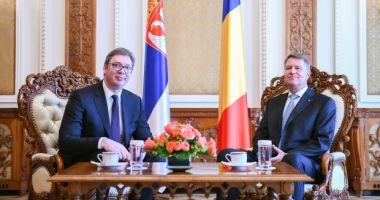 Klaus Iohannis, despre cazul lui Sebastian Ghiţă, la întâlnirea cu preşedintele Serbiei: Nu e treaba preşedinţilor
