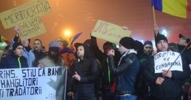 O săptămână de proteste în România.