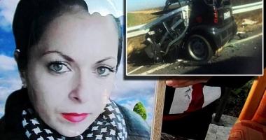 CAZUL CARE A ÎNDURERAT O ŢARĂ ÎNTREAGĂ! O tânără s-a sinucis într-un accident, din cauza soţului drogat şi violent. Doi copii au rămas fără mamă