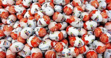 Ouă de ciocolată cu surprize,  confiscate în Portul Constanţa Sud Agigea