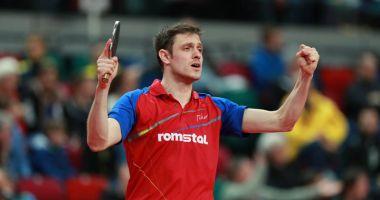 Ovidiu Ionescu, meciul carierei la Europenele  de tenis de masă