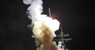 FOTO-VIDEO. A ÎNCEPUT RĂZBOIUL. SUA ATACĂ SIRIA. AU FOST LANSATE 59 DE RACHETE. RUSIA REACŢIONEAZĂ