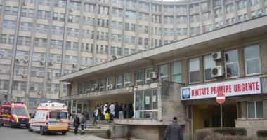 Avalanşă de bolnavi la Spitalul de Urgenţă Constanţa