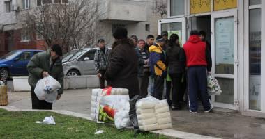 Începe distribuirea ajutoarelor de la Uniunea Europeană, la Constanţa