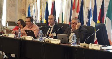 Palatul Parlamentului găzduiește reuniunea sindicatelor din transporturile europene