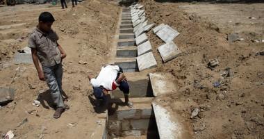 Patru copii palestinieni, uciși pe o plajă