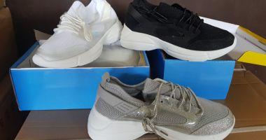 Pantofi chinezeşti, confiscaţi în Portul Constanţa Sud Agigea