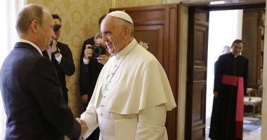 Papa Francisc îl va primi, pe 4 iulie, pe preşedintele Vladimir Putin
