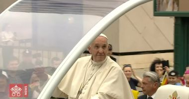VIDEO  / Vizita Papei Francisc în 60 de secunde. Clipul postat de Vatican