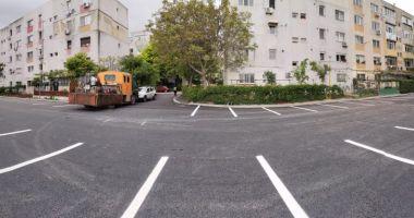 Zeci de noi locuri de parcare, amenajate la Constanţa