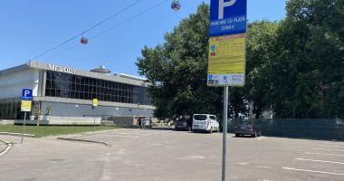 Parcare la liber în staţiunea Mamaia. Taxa nu mai este obligatorie în afara sezonului estival