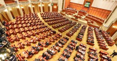 Ședință solemnă în Parlament, la 26 de ani de la Revoluție