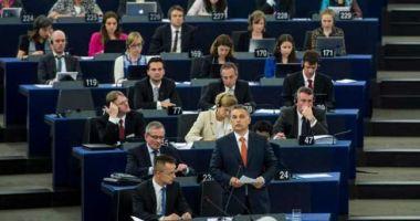 Parlamentul European a votat pentru sancționarea Ungariei