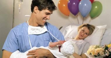 Tăticii curajoși asistă la naștere