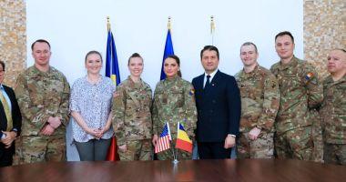 Militari americani, în vizită la Primăria Constanța