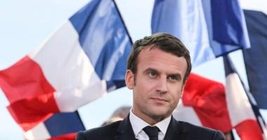 Partidul lui Macron  şi aliaţii săi,  în frunte cu 32,32%