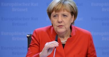 Partidul Angelei Merkel, depăşit de social-democraţi