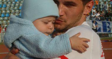 Drum lin, Denis Paşcovici! Foto de sentiment cu fiul fostului fotbalist al FC Farul