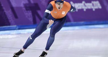 Olandezul Sven Kramer, a treia oară campion olimpic la patinaj viteză