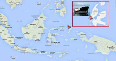 Un tanc petrolier s-a scufundat în Indonezia, cu 5.400 tone de combustibil la bord