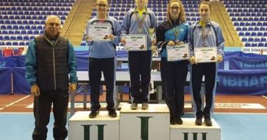 Patru medalii pentru CS Farul, la Cupa României de tenis de masă