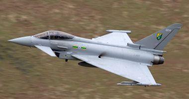 Patru avioane Eurofighter Typhoon au aterizat la Mihail Kogălniceanu
