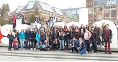 Liceeni de la Colegiul Pedagogic, elevi pentru o săptămână, în Olanda
