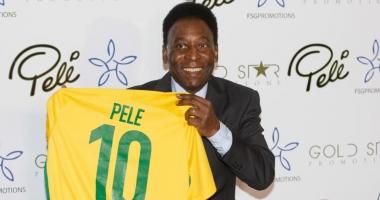 Pele a fost spitalizat după ce s-a prăbușit, înainte de un eveniment