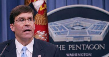 Pentagonul asigură că SUA vor apăra ordinea internațională subminată de Iran