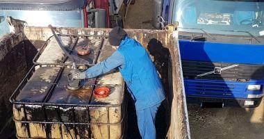 Furturi de amploare de produse petroliere. Suspecții