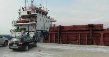 Peste 130.000 de ţigări de contrabandă, confiscate în Portul Midia