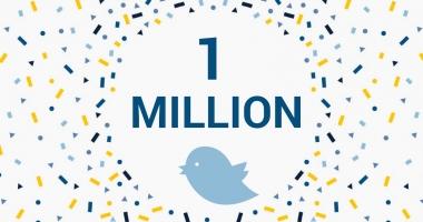Peste un milion de persoane urmăresc Parlamentul European pe Twitter