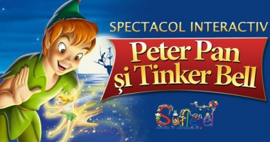 Peter Pan  şi Tinker Bell,  la Harlequin Mamaia