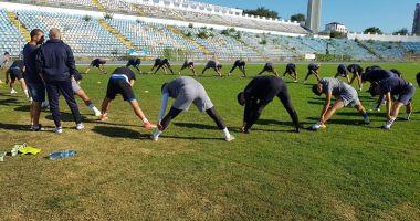 Petre Grigoraş a condus antrenamentul echipei SSC Farul
