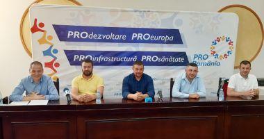 Pro România și-a prezentat candidații la primăriile Cobadin, Crucea și Mihail Kogalniceanu