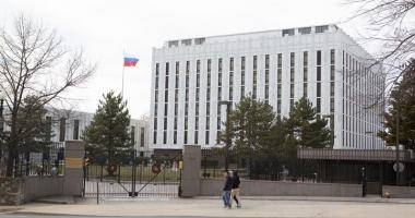 """Piaţa """"Boris Nemţov"""",  în faţa ambasadei Rusiei în SUA"""